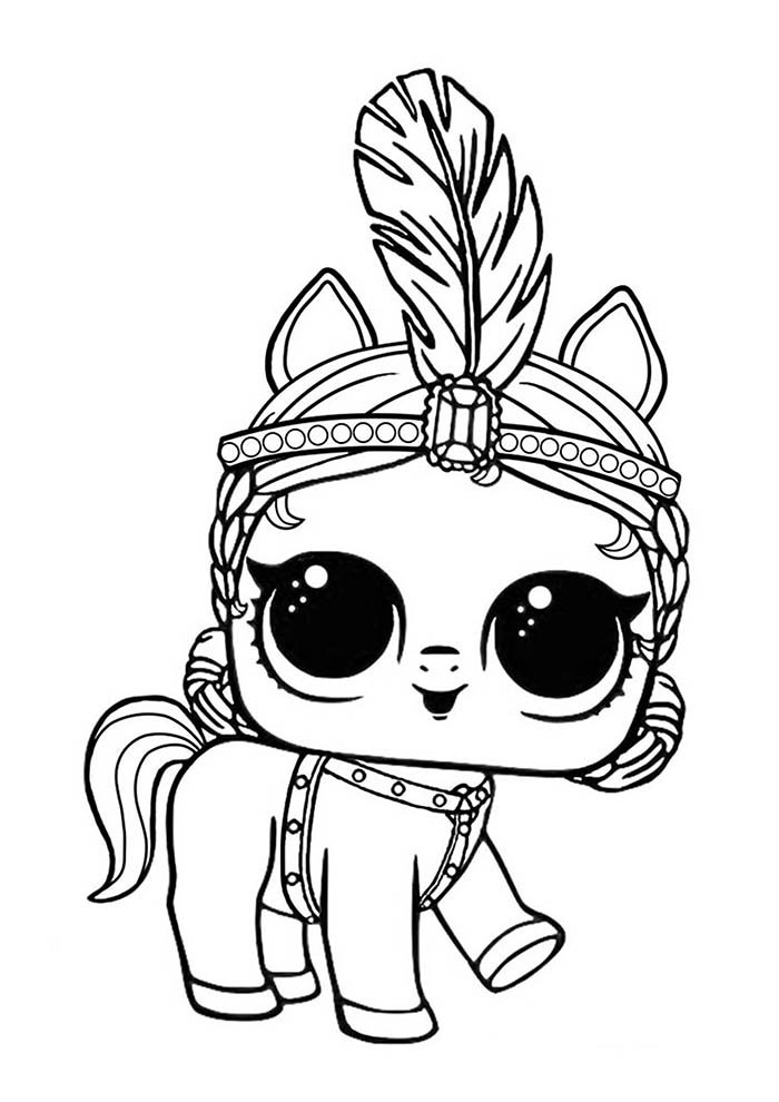 lol coloring page pet indian