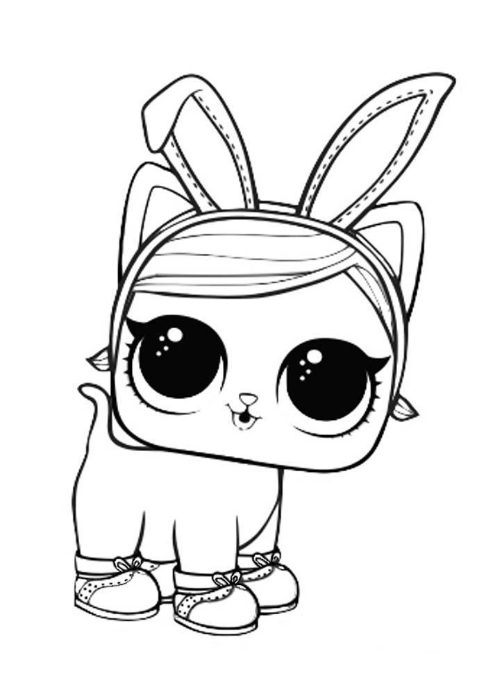 lol coloring page rabbit