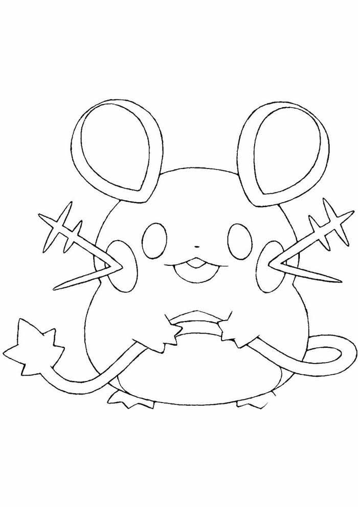 pokémon coloring page 2