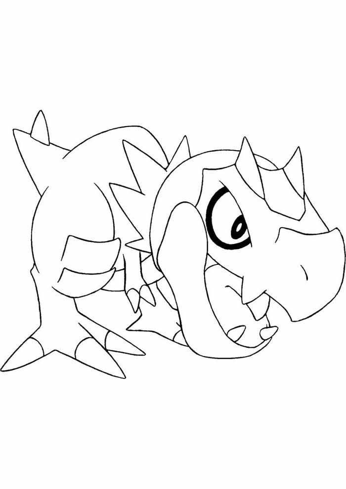 pokémon coloring page 24