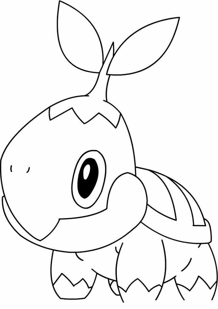 pokémon coloring page 7
