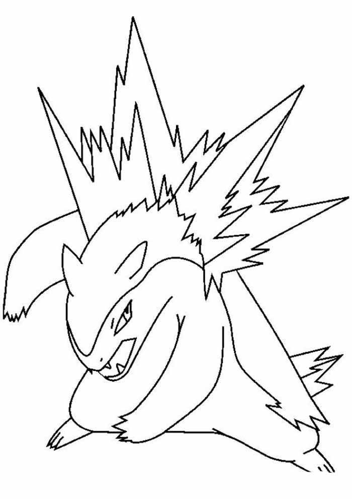 pokémon coloring page 8