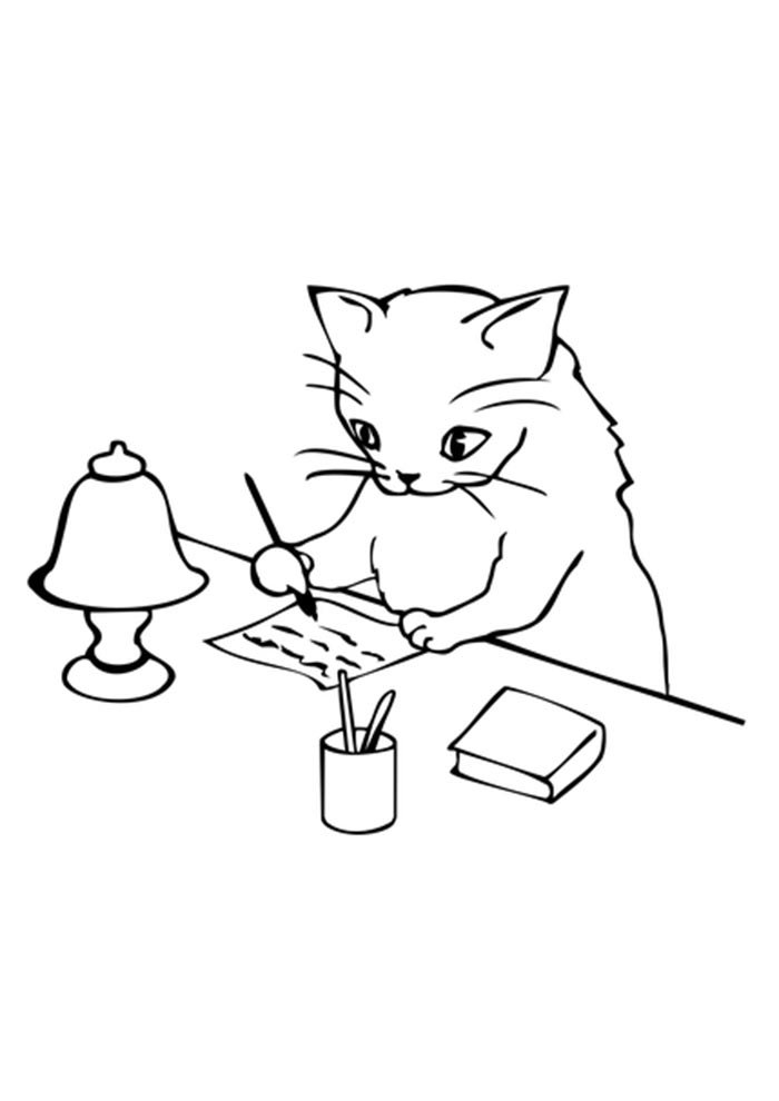 printable cat picture