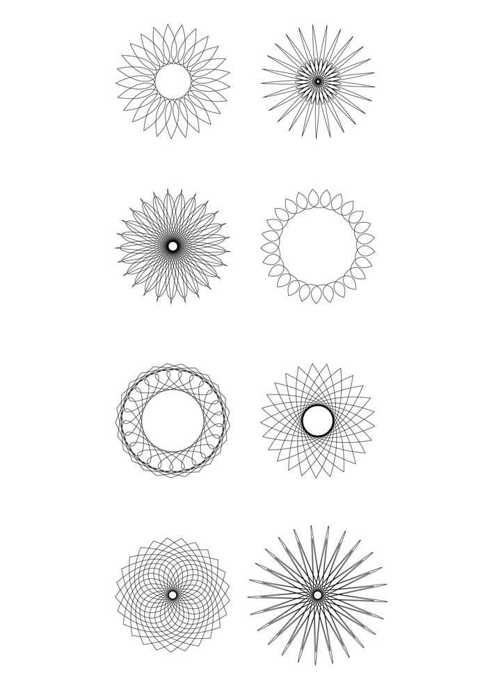 small mandalas coloring page medium