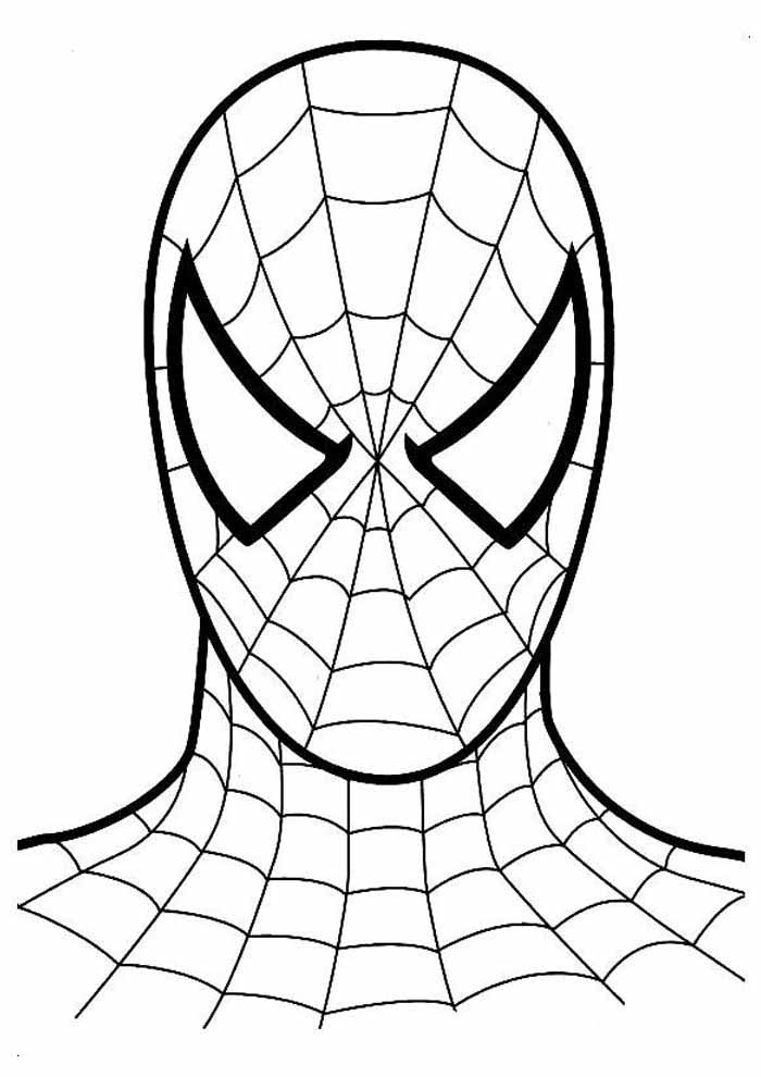 spiderman coloring page 1