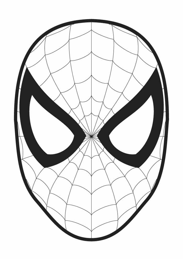 spiderman coloring page 16