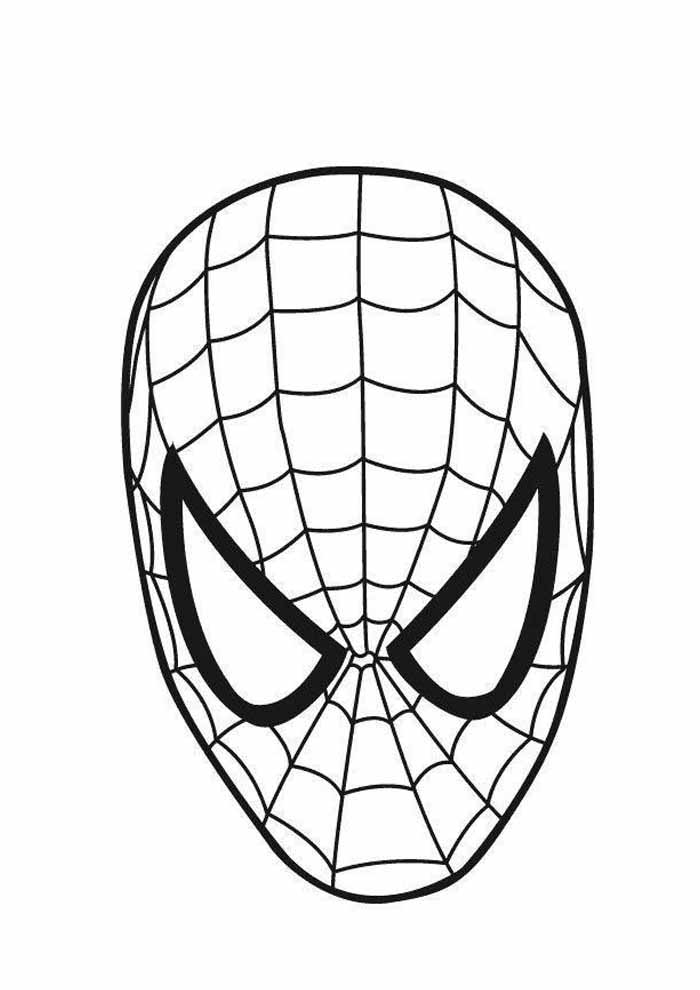 spiderman coloring page 17