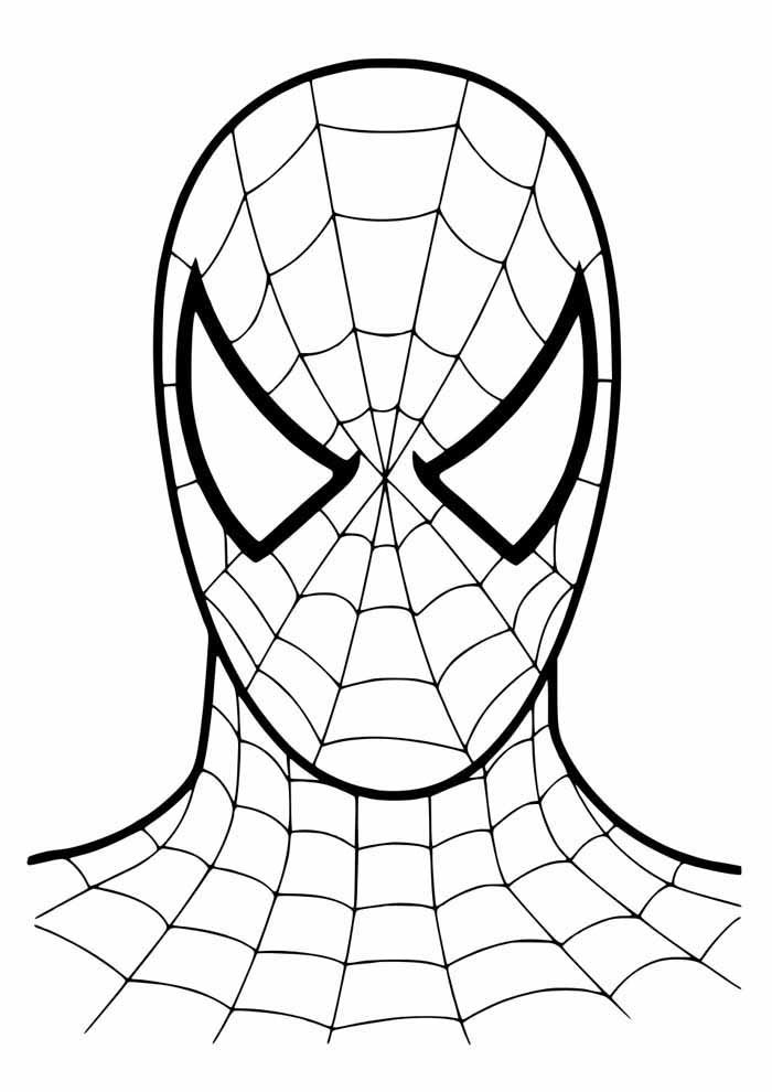 spiderman coloring page 42