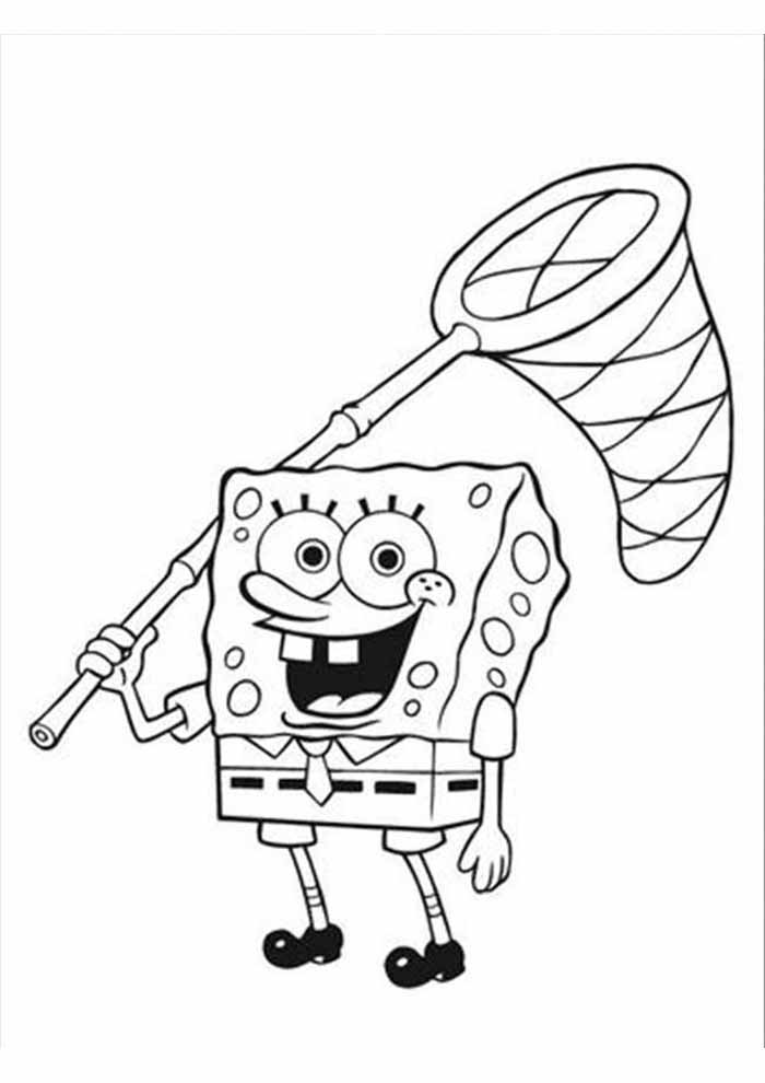 spongebob coloring page 6