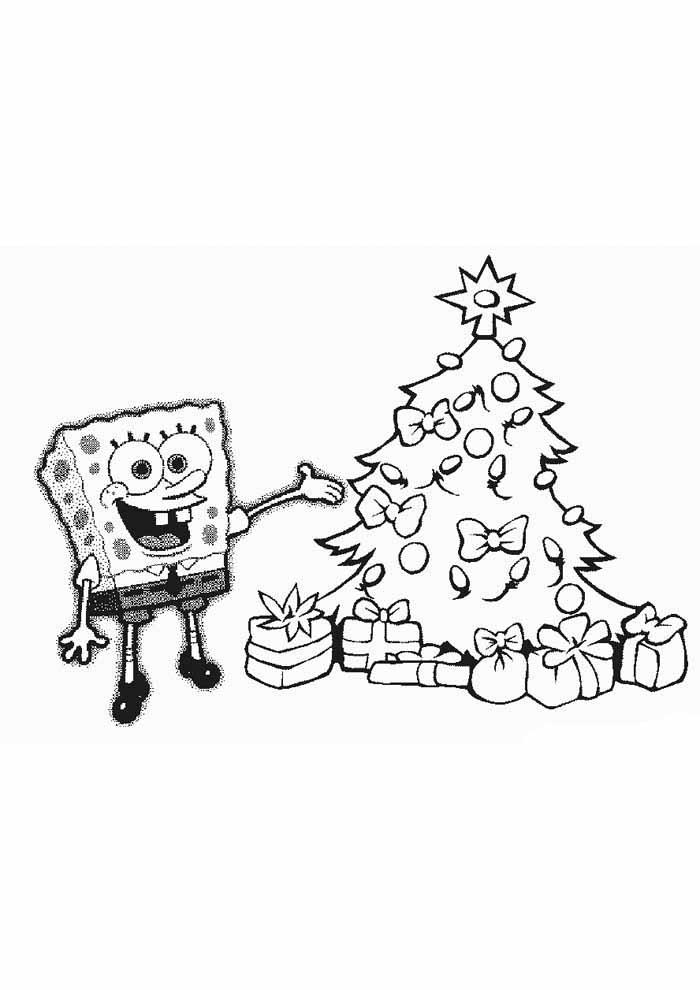 Cute Spongebob Coloring Pages - GetColoringPages.com | 990x700