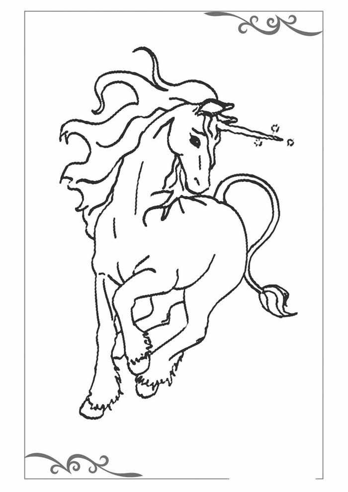 unicorn coloring page 57