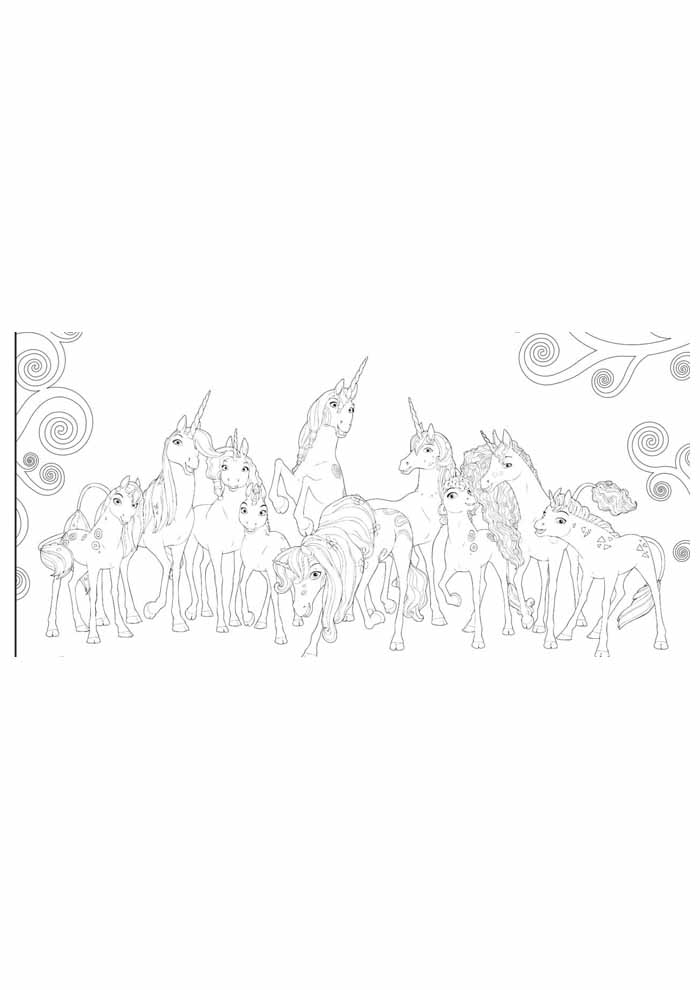 unicorn coloring page 59