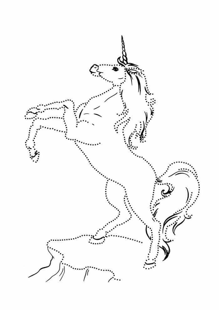 unicorn coloring page 60