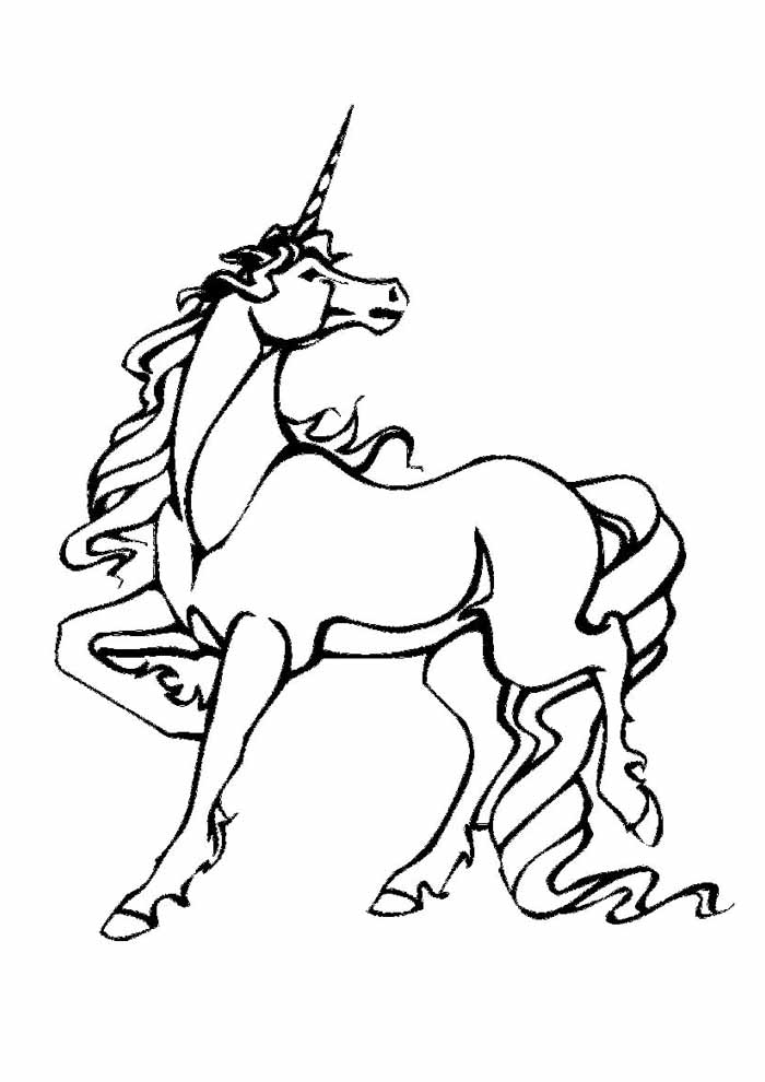 unicorn coloring page 68