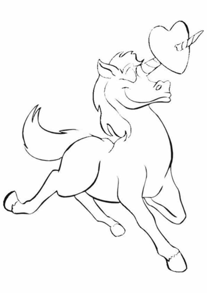 unicorn coloring page 70