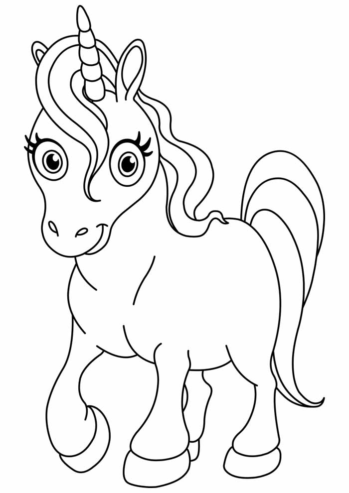 unicorn coloring page 87