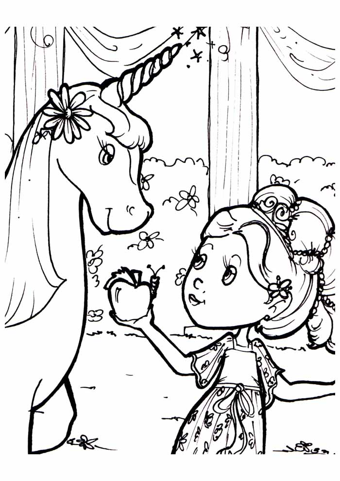 unicorn coloring page 88
