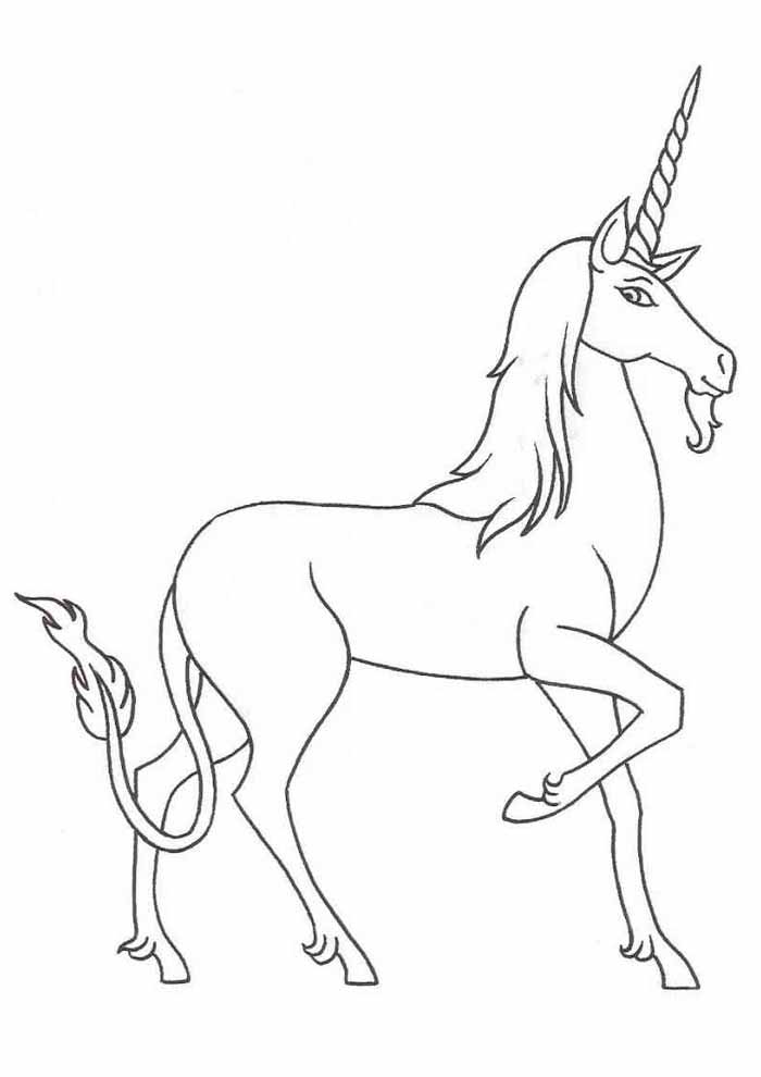 unicorn coloring page 94