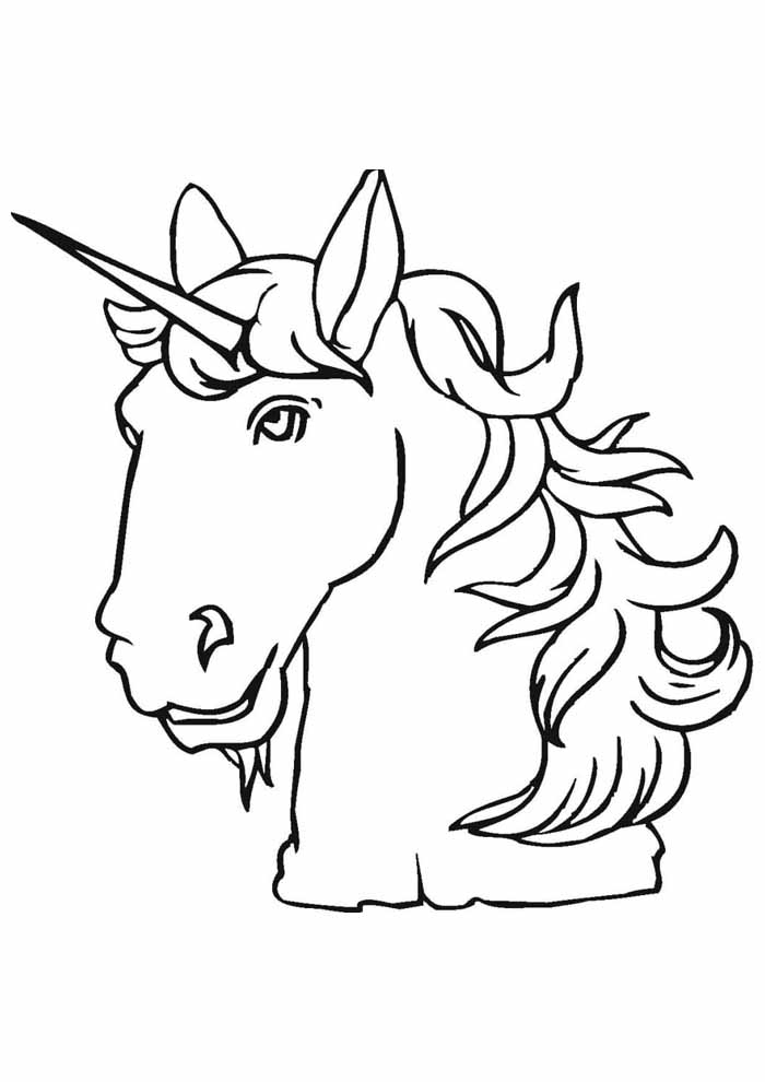 unicorn coloring page 97