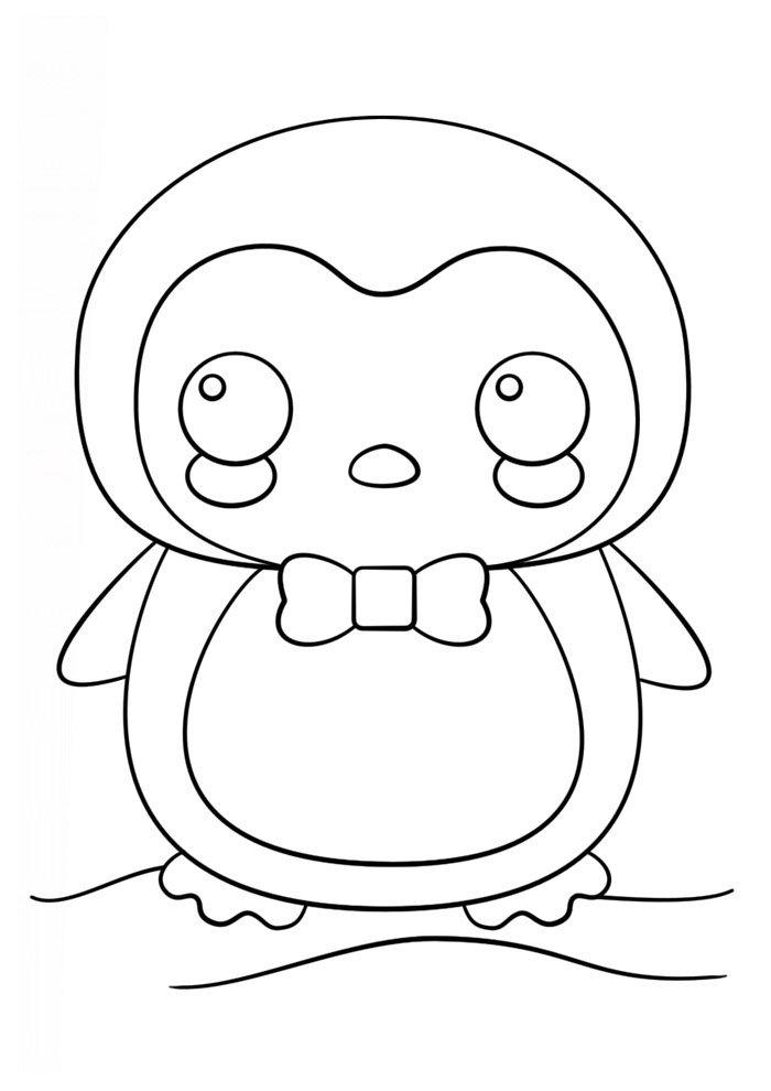 Dibujos kawaii para colorear 52