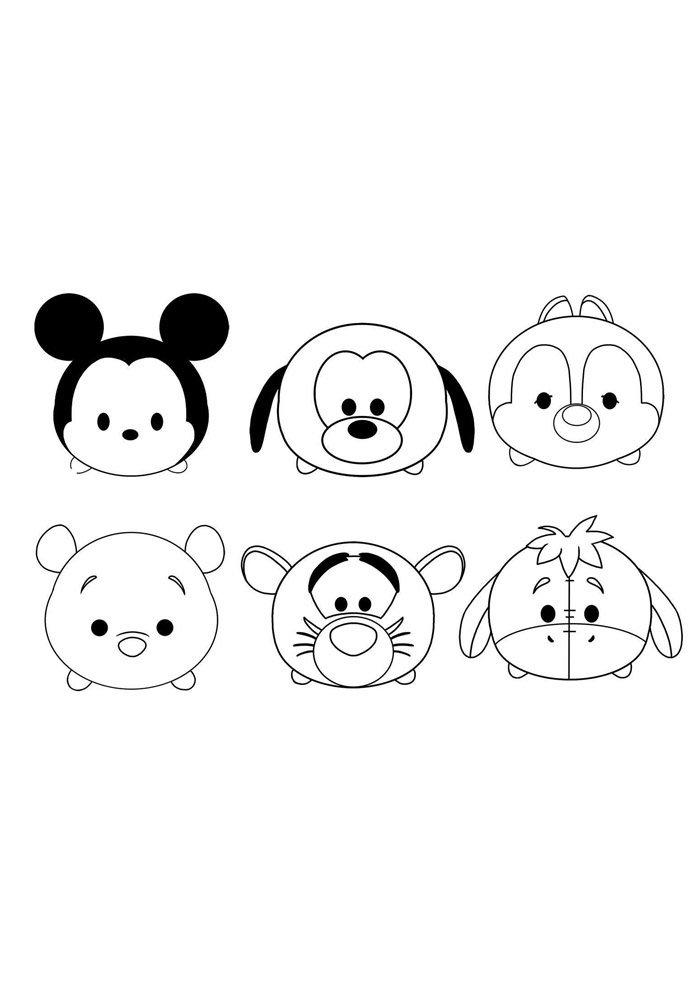 Dibujos kawaii para colorear 72