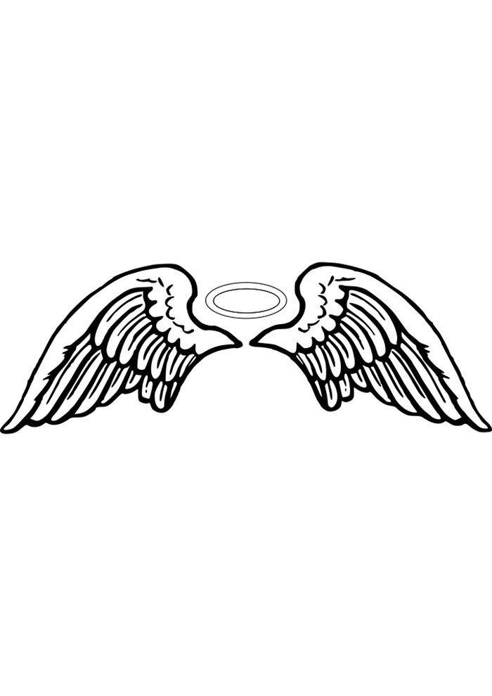 angel para colorear 15