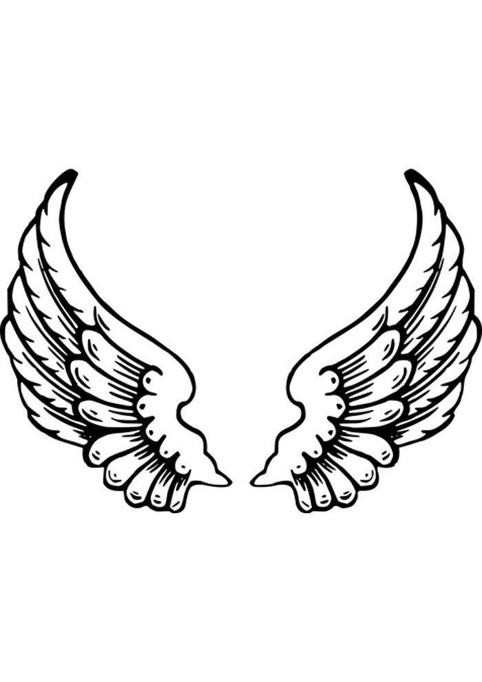 angel para colorear 16