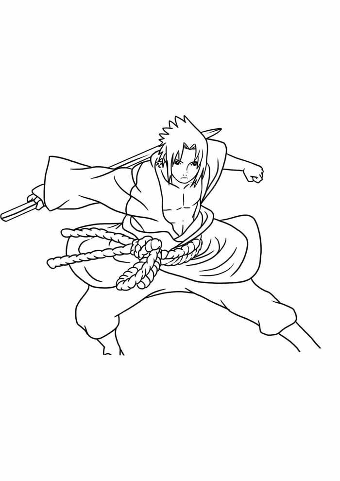 anime coloring page5