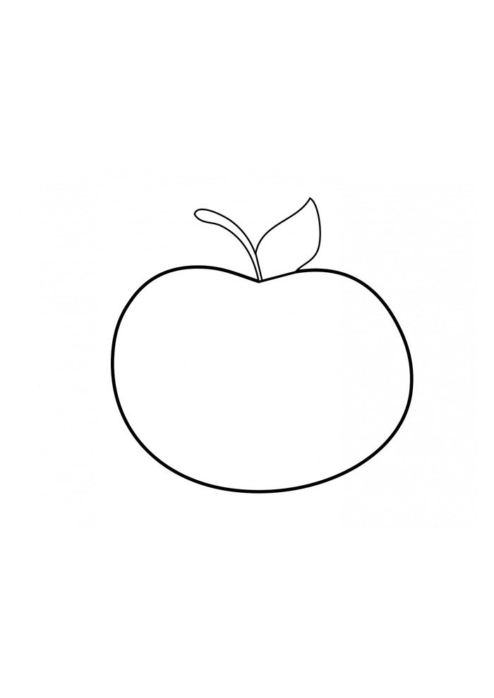 apple coloring page 20