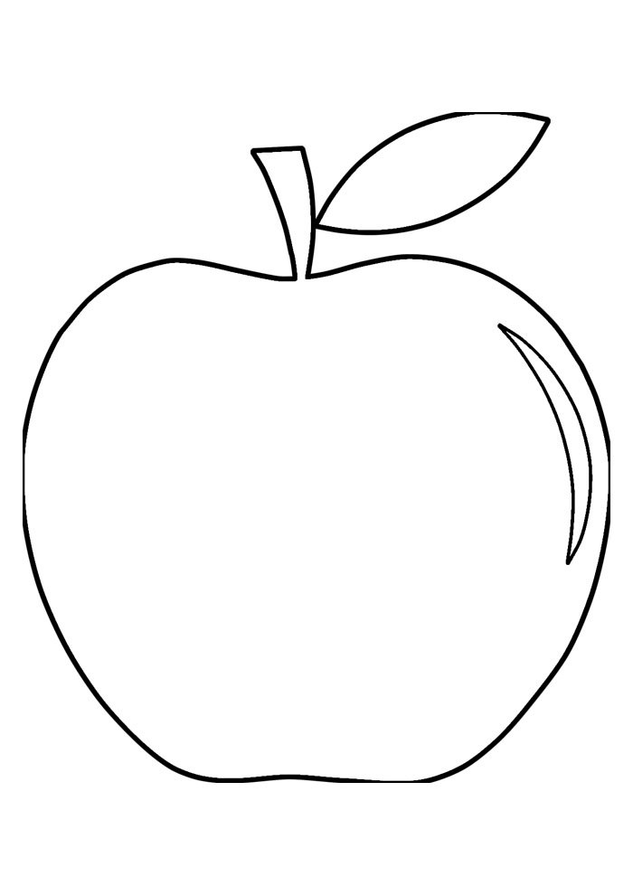 apple coloring page 30
