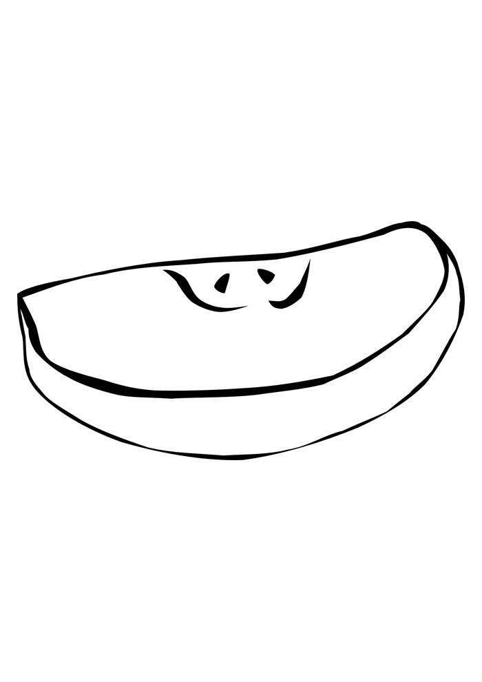 apple coloring page 31