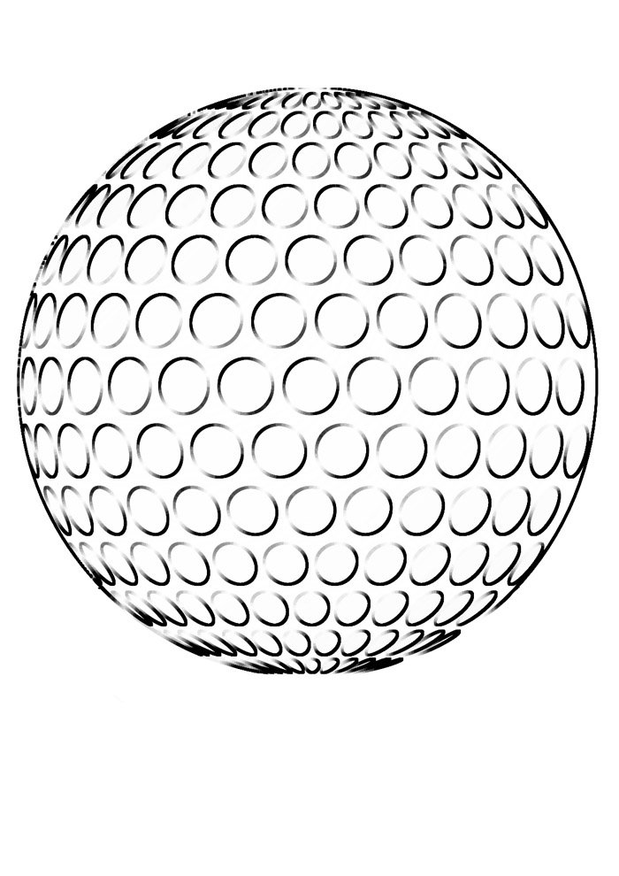 ball coloring page 13