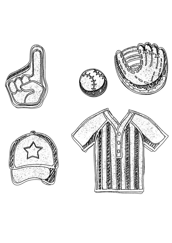 ball coloring page 3