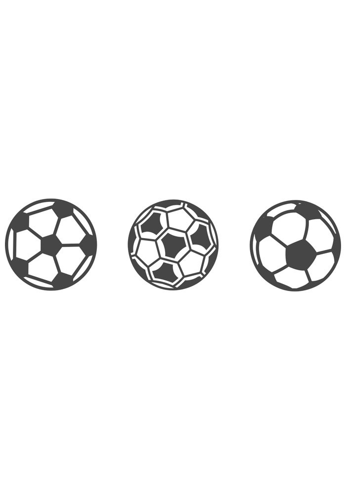 ball coloring page foottball 5