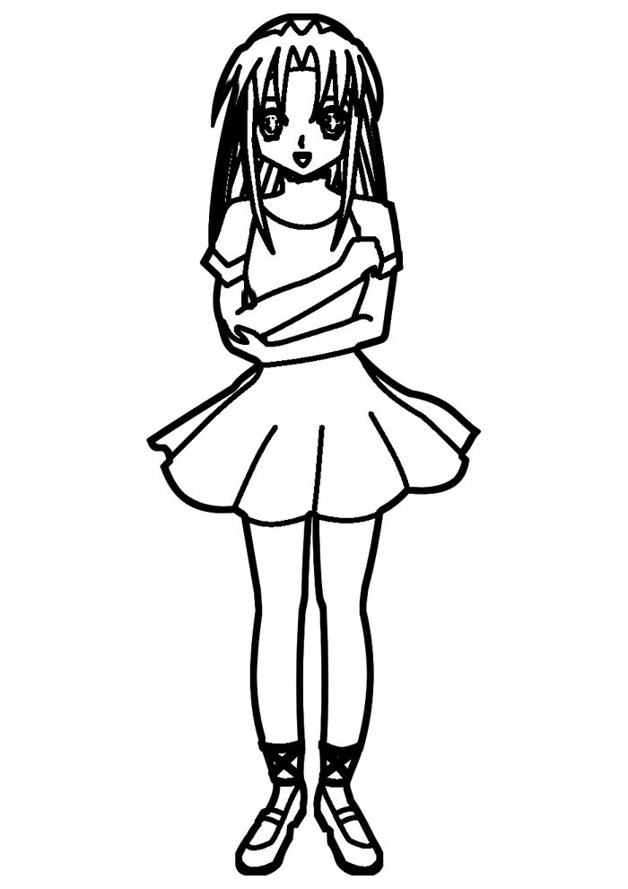 ballerina coloring page 26