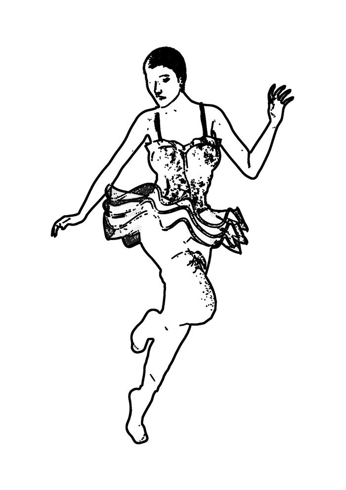 ballerina coloring page 27