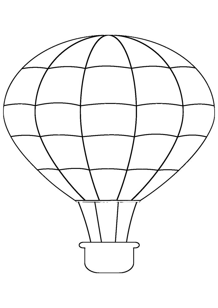 balloon coloring page 13