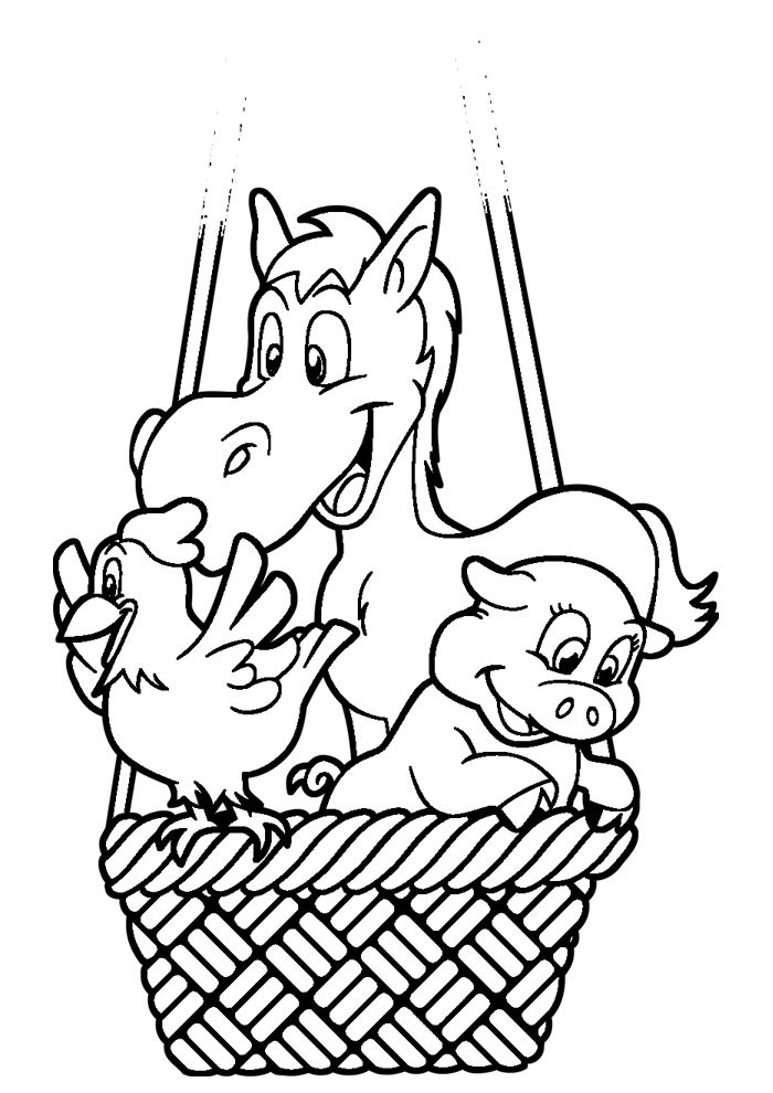 balloon coloring page 2