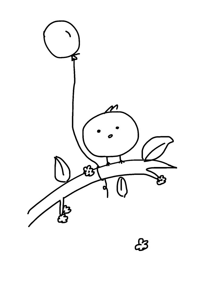 balloon coloring page 22