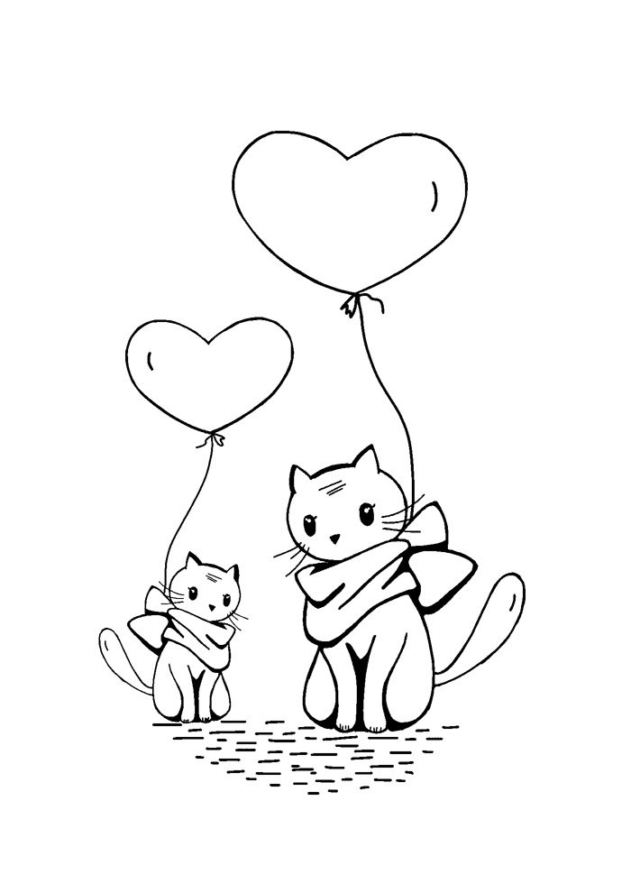 balloon coloring page 23