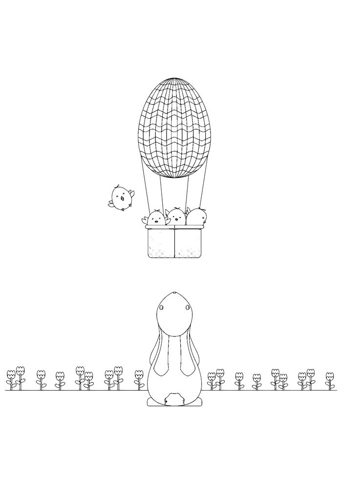 balloon coloring page 24