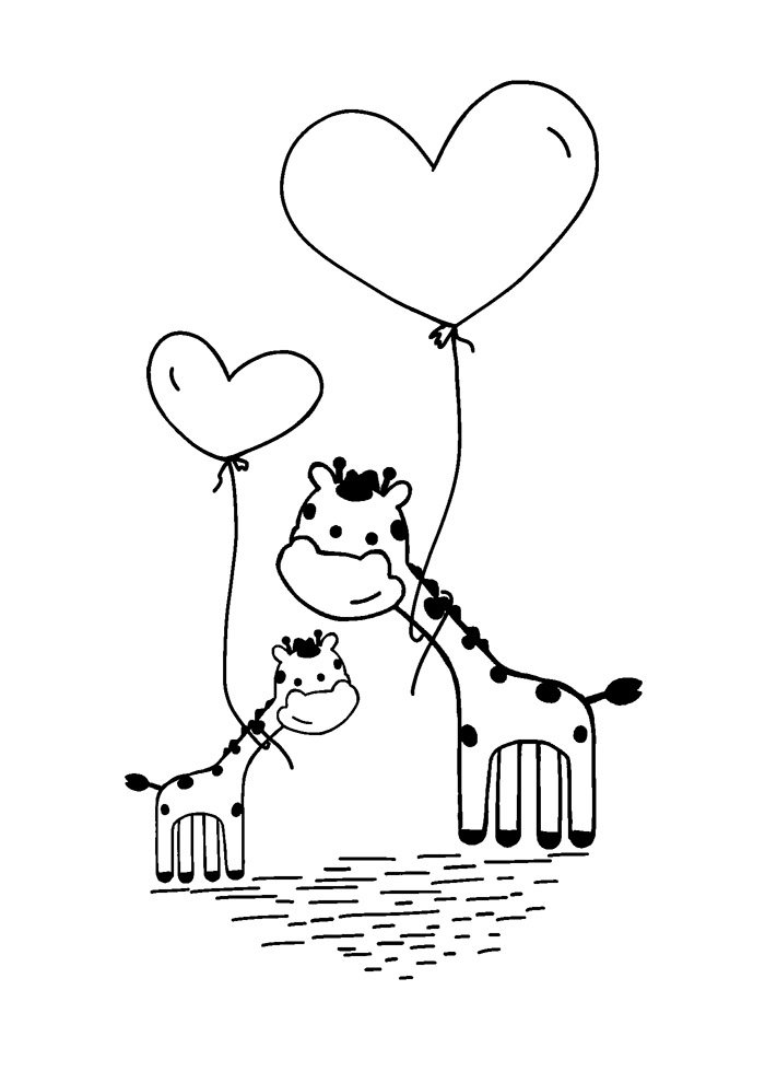 balloon coloring page 26
