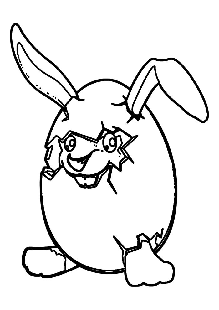 bunny coloring page 1 1