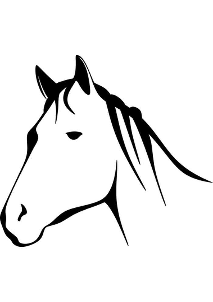 caballo para colorear 1