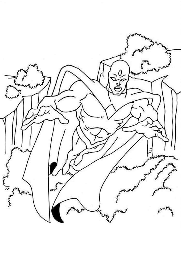 captain america coloring page 21