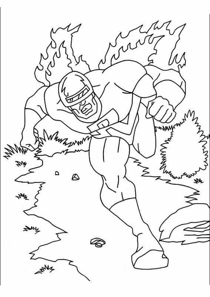 captain america coloring page 28