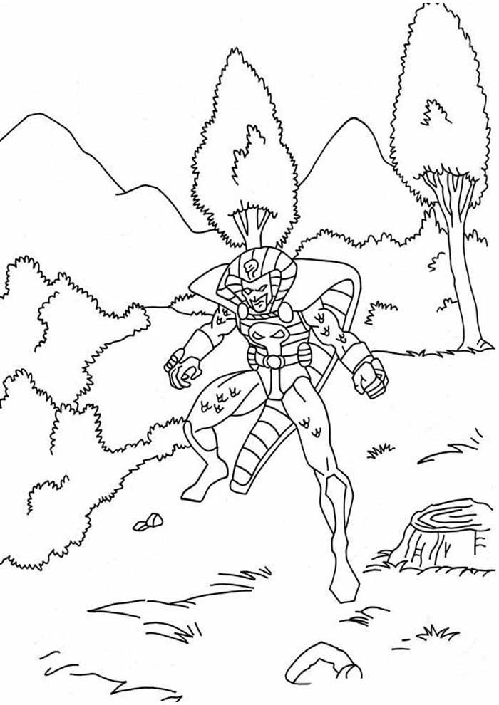 captain america coloring page 42