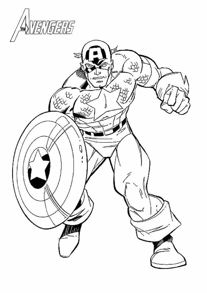captain america coloring page 56