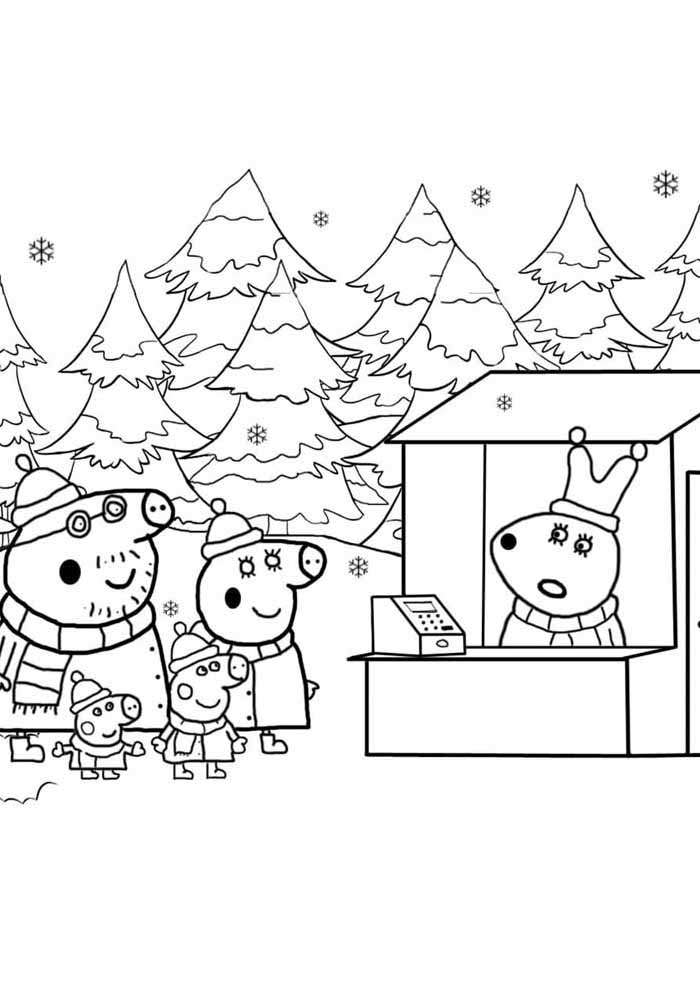 59 Peppa Pig Coloring Pages Coloring Pages