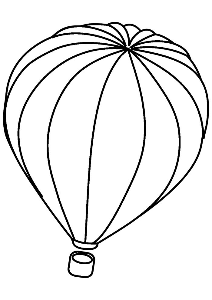 coloriage ballon 26